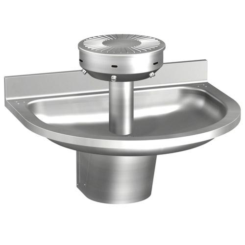 Semi Circular Stainless Steel Wash Fountain