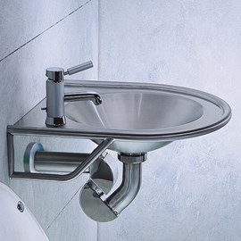 Wall Mounted Metaal Basin
