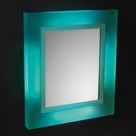 Framed Glass Mirror