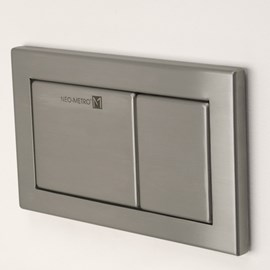 Dual Flush Panel for In-Wall Flush System