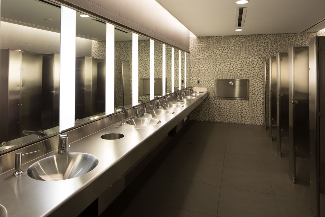 National September 11 Memorial Museum Bathroom Basins