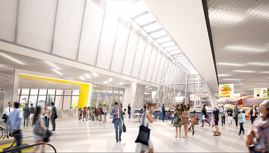 Virgin MiamiCentral Station (image courtesy of Brightline)