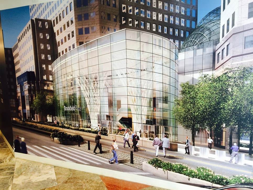 Rendering of Brookfield Place