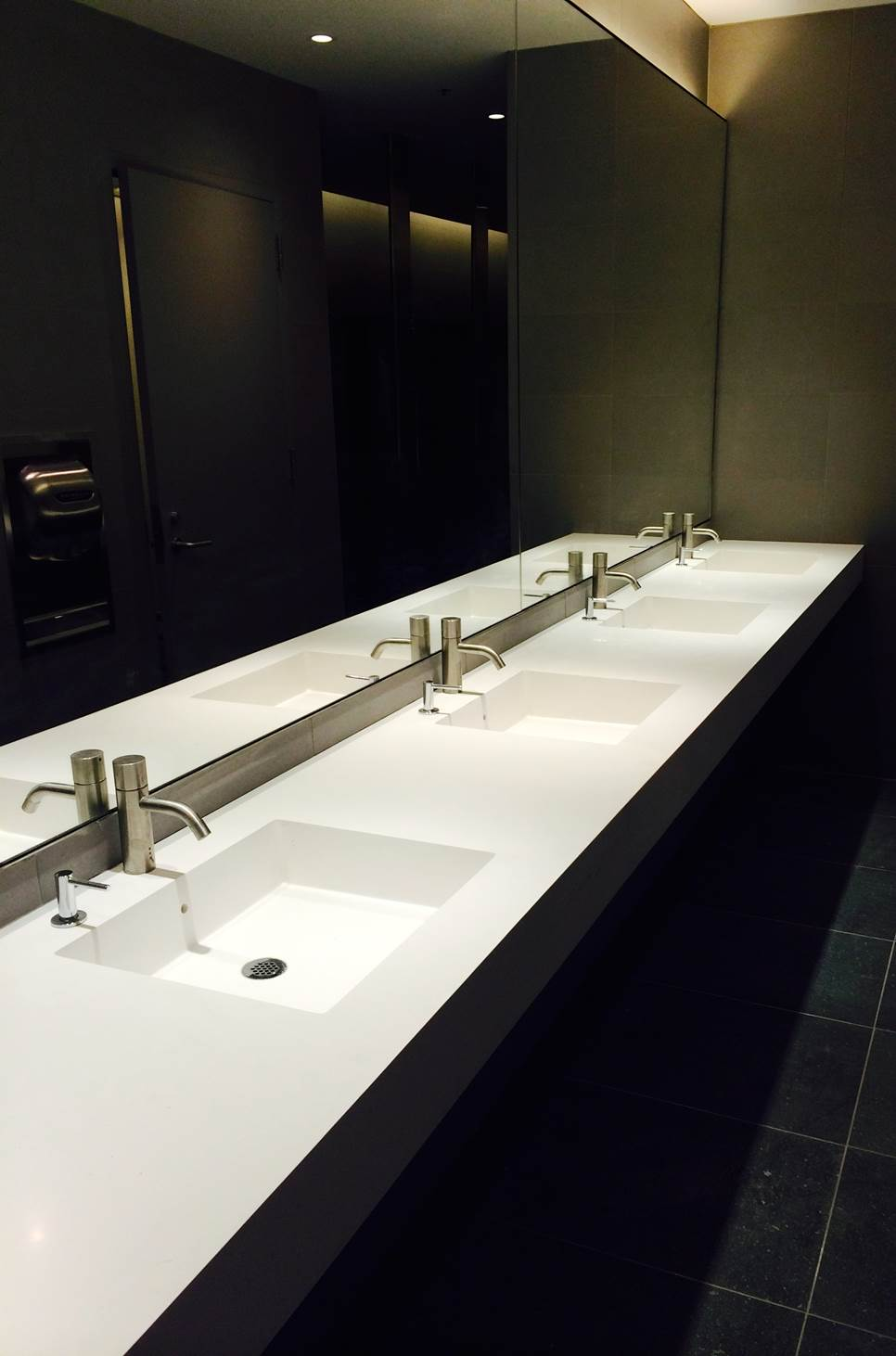 Wall Mounted Sinks Neo-Metro Brookfield Place