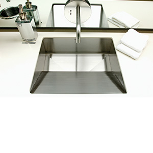 EBB Console Stainless Steel Basin