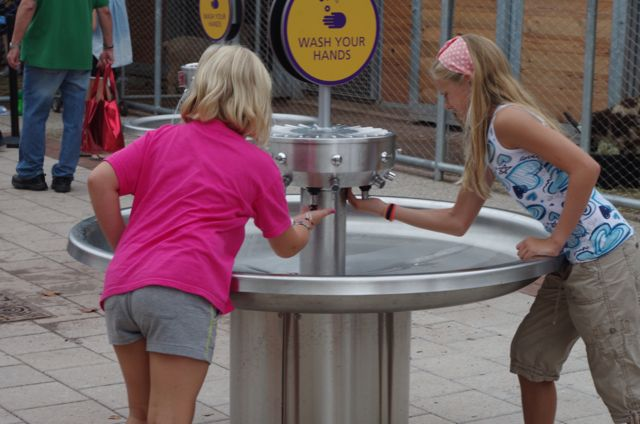 Custom Hand Wash Stations for Philadelphia Zoo