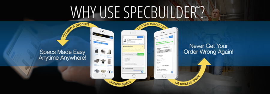 SpecBuilder Tool for Luxury Plumbing Product Specs