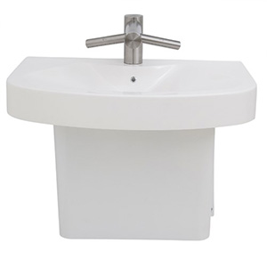 PAT Wall Mount Sink with Dyson Faucet Hand Dryer