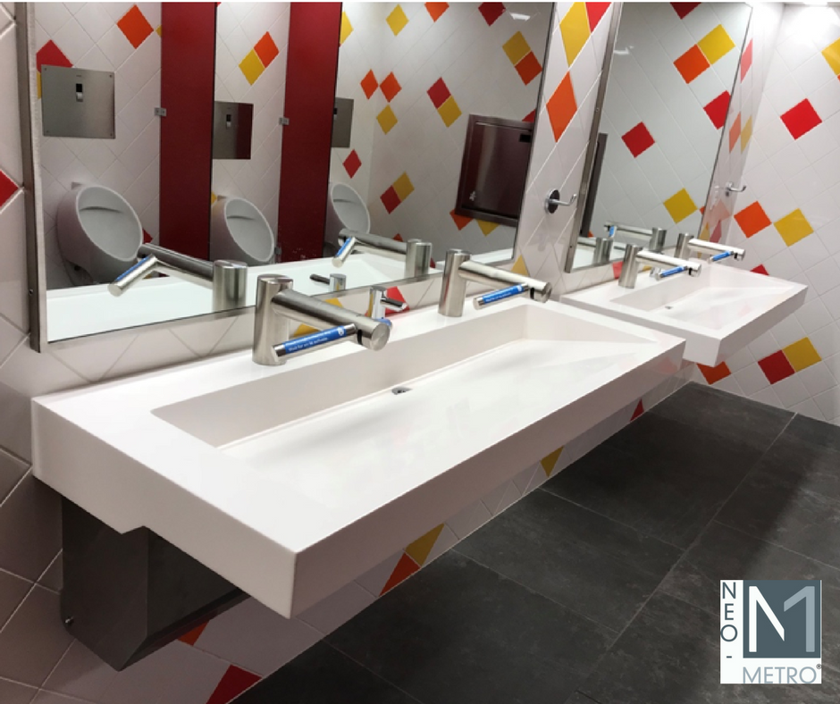 ADA compliant and child friendly sink