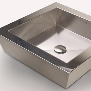 Vessel Stainless Steel Countertop Sink