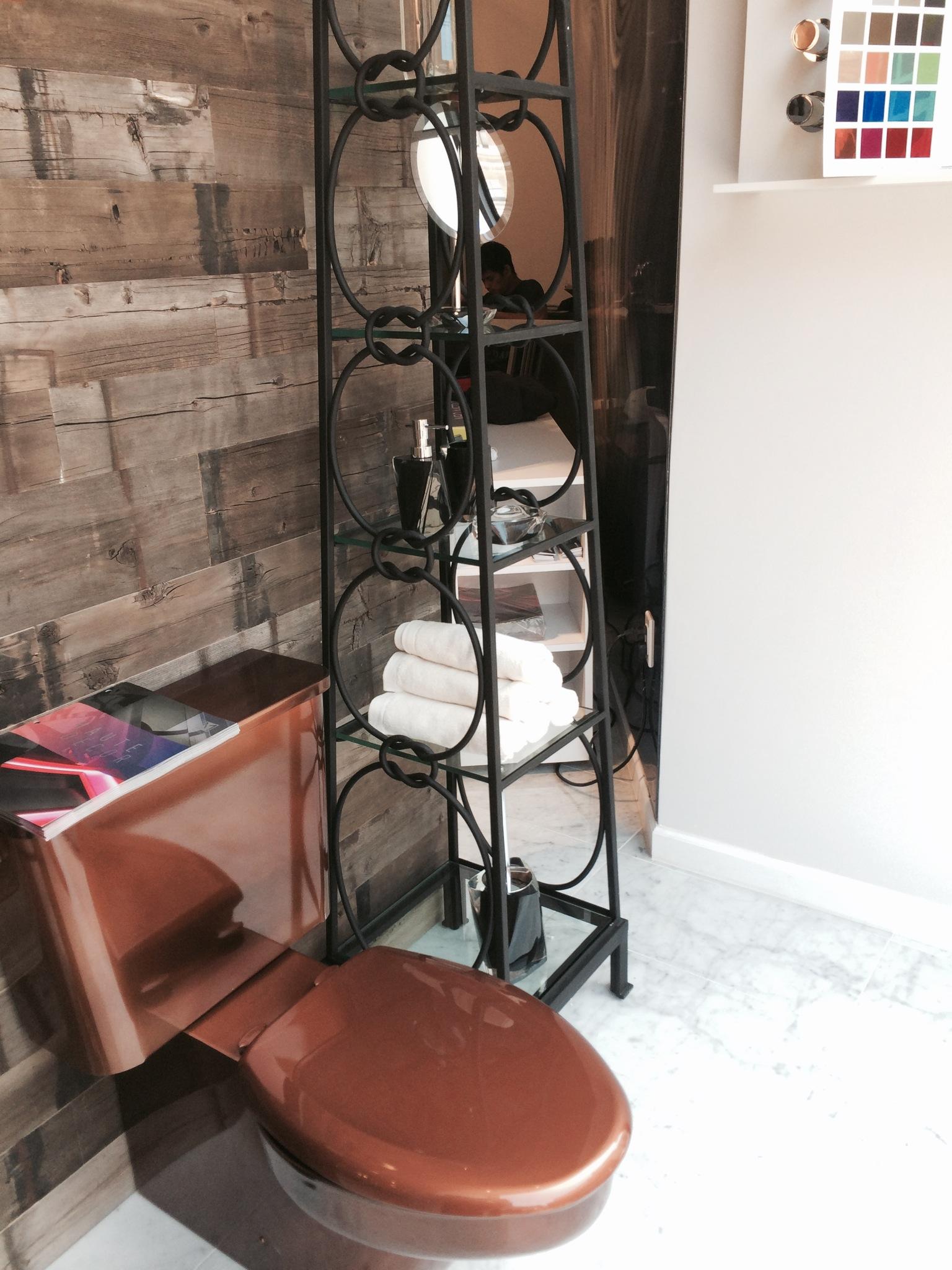 ... Neo Metro Toilet Installation In The Grande Central Plumbing Supply  Showroom In ...