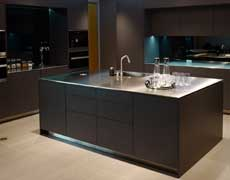 Custom Stainless Steel Countertops and Sink