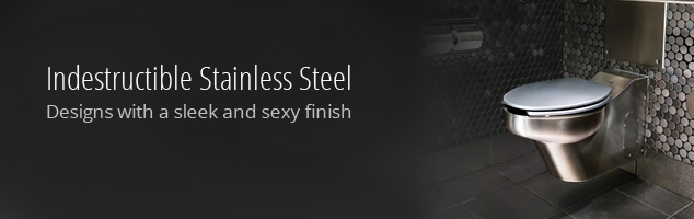 Stainless Steel Toilets for Every Application - Neo Metro
