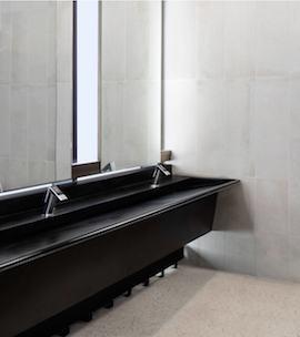 WEDGE™ BASINS with Neo-Metro & Dyson Airblade